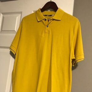 💙 Auth Burberry Yellow Polo 💙